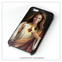 Beyonce Funny Catholic Saint Music iPhone 4 4S 5 5S 5C 6 6 Plus , iPod 4 5 , Samsung Galaxy S3 S4 S5 Note 3 Note 4 , HTC One X M7 M8 Case