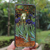 Art,flowres,iphone 4 case,iPhone4s case, iphone 5 case,iphone 5c case,Gift,Personalized,water proof