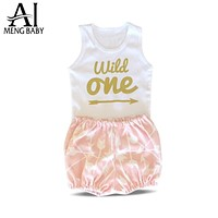 Girl Clothes Infant Clothing Sets Little Girl Suit Outfit Toddler born Baby Costume Baby Gift