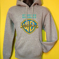 If you see da police warn a brother vintage looking hoodie