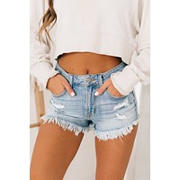 Beach Babe High Waisted Shorts (Favored LT)