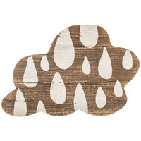 Cloud Wood Wall Decor with Raindrops | Hobby Lobby | 1298181
