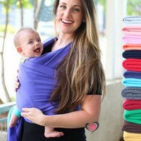 Baby Carrier Sling Stretchy Wrap By Moby