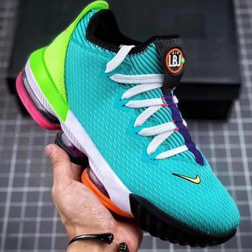 Trendsetter Nike LeBron 16 Low Men Fashion Casual Sneakers Sport Shoes