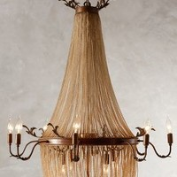 Palais Chandelier by Anthropologie in Nude Size: One Size Lighting