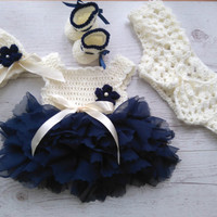 Baby Girl Coming Home Outfit , baby girl dresses, crochet baby outfit, newborn crochet outfit , tulle baby girl dress, newborn baby girl