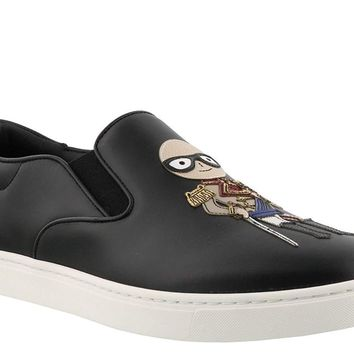 Dolce & Gabbana Men's Calf Leather Slip-ONS Shoes