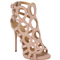 Circle Cutout Ankle Boot