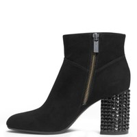 Arabella Embellished Suede Ankle Boot | Michael Kors