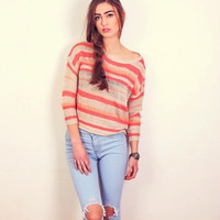 Coral City Sweater