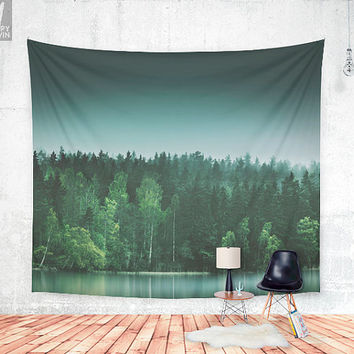 Echoes 3 Wall tapestry