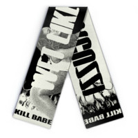 W*T LIKE JACUZZI Wool Scarf