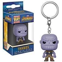Funko Pop Pocket Avengers Infinity War Keychain Marvel Thanos Action Figure Toy|Action & Toy Figures