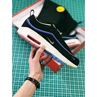 Sean Wotherspoon x Nike Air Max 1 / 97 VF SW Hybrid Black Sport Running Shoes