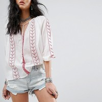 Glamorous Embroidered Top at asos.com