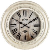 Distressed White Wall Clock | Hobby Lobby | 1150184
