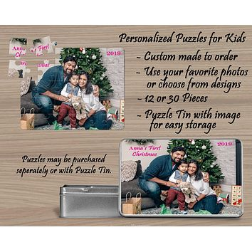 Custom Photo Puzzle | Personalized Gifts | Custom 30 Piece Puzzle
