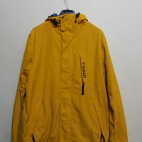 Vintage 90s Oneill jacket windbreaker spellout/yellow /Large