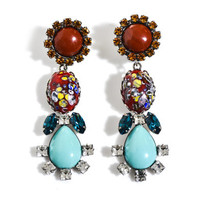 Cassandra earrings | Dannijo | Matchesfashion.com