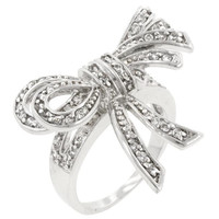 Double Knot Shoelace Ring, size : 08