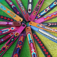 Mexican Leather Bracelet