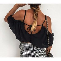 Skyla Crop Blouse