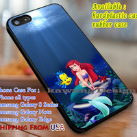 Mermaid in the Sea Ariel iPhone 6s 6 6s+ 6plus Cases Samsung Galaxy s5 s6 Edge+ NOTE 5 4 3 #cartoon #disney #animated #theLittleMermaid dl3