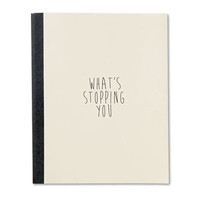What's Stopping You Adventure Journal