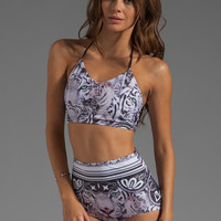 Clover Canyon Eye Of The Tiger Tank Bathing Suit in Multi from REVOLVEclothing.com