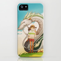 Spirited Away iPhone & iPod Case by Francesca B.