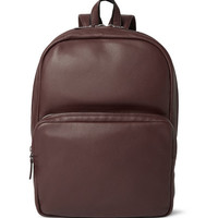 Marc by Marc Jacobs - Full-Grain Leather Backpack   MR PORTER