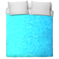 Blue Cover Bed Spread