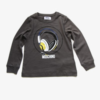Moschino Boys Headphone Tee  - HMM00E - FINAL SALE