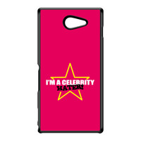 Celebrity Hater Black Hard Plastic Case for Sony M2 by Chargrilled