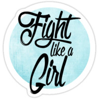 fight like a girl by disfor