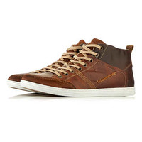 Dune Leather Hi Tops* - Hi Tops - Shoes and Accessories