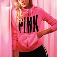 Funnel-neck Perfect Zip Hoodie - Victoria's Secret
