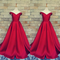 prom dress prom gown dresses pleated formal dresses pleats 2016 New a line sexy vestidos de baile long prom dresses