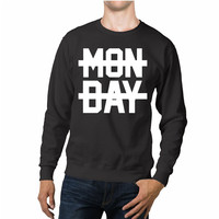 Niall Horan 1D Hate Monday Quotes Unisex Sweaters - 54R Sweater