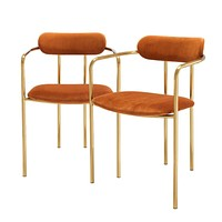 Orange Dining Chair Set | Eichholtz Singer