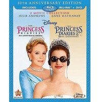 The Princess Diaries: 10 Anniversary Edition / The Princess Diaries 2: Royal Engagement (Blu-ray + 2-Disc DVD) (Widescreen) - Walmart.com