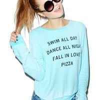 Wildfox Couture Party Baggy Beach Jumper Wet N' Wild