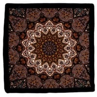 Sunshine Joy India Star Bandana Orange and Grey