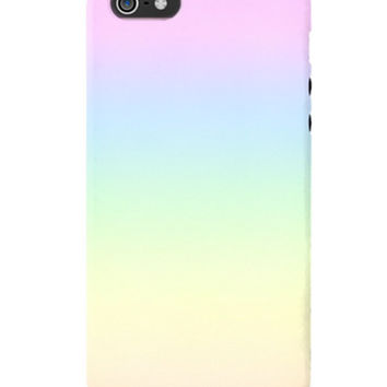 PASTEL RAINBOW IPHONE CASE