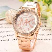 Perfect MK Fashion Diamonds Watch Masonry Watches Business Watches
