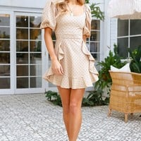 What We Have Dress Beige