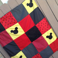 Mickey Mouse Minky Blanket