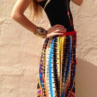 Print Dress Hot Sale Skirt [4970291076]