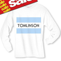 Tomlinson One Direction Long Sleeve T-Shirt