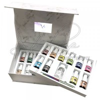 CHERI x NAILJOB - MARBLE TINTS FULL(22pc) KIT BOX w/ INSTRUCTION VIDEO - Nail Art